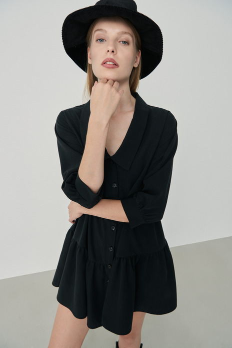 Curdoroy Bucket Hat Black