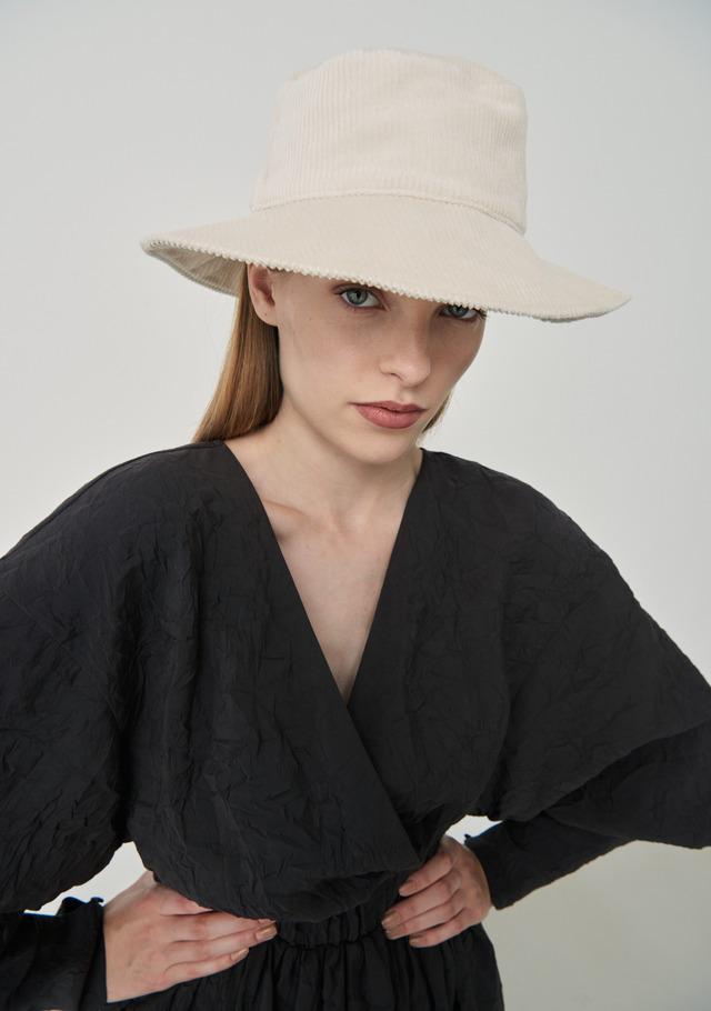 Curdoroy Bucket Hat Cream