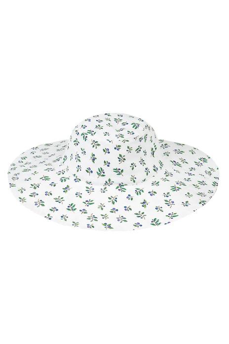 Printed Bucket Hat White