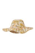 Printed Bucket Hat Yellow