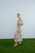 Poplin Fabric Maxi Skirt